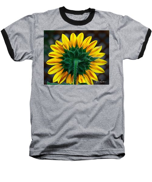 Back Of Sunflower Baseball T-Shirt