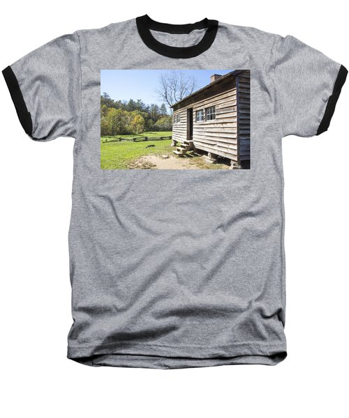Back Porch Baseball T-Shirt by Ricky Dean