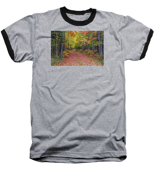 Back Road Color Tour  Baseball T-Shirt