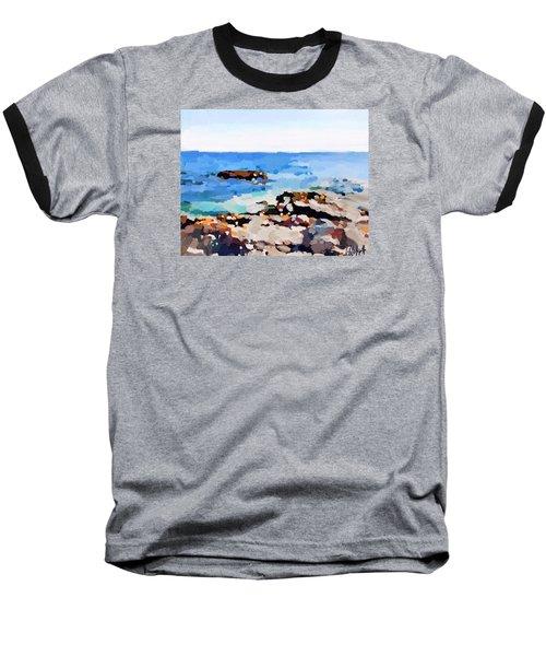 Back Shore, Gloucester, Ma Baseball T-Shirt