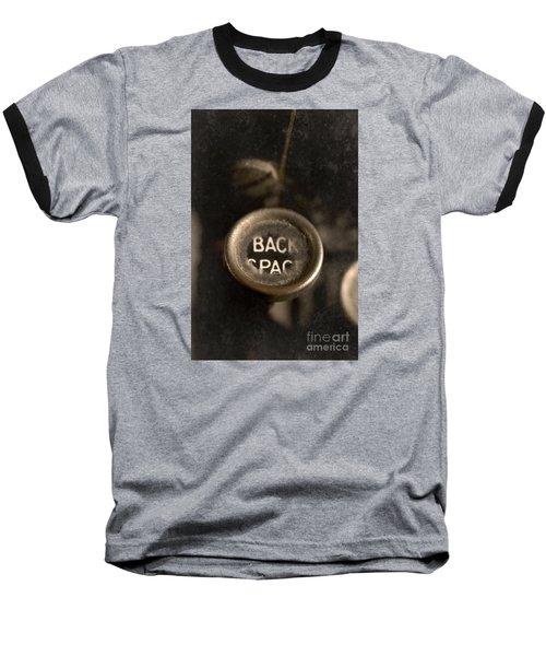 Back Space Baseball T-Shirt