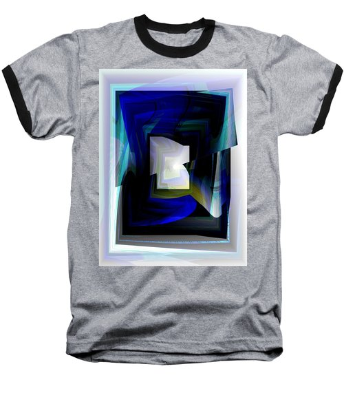 The End Of The Tunnel Baseball T-Shirt by Thibault Toussaint