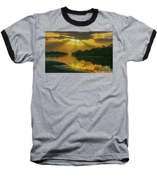 Back Up Reflection Baseball T-Shirt