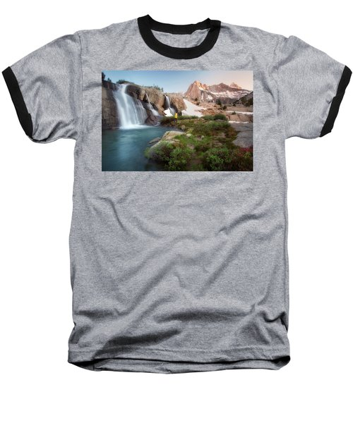 Backcountry Views Baseball T-Shirt by Nicki Frates