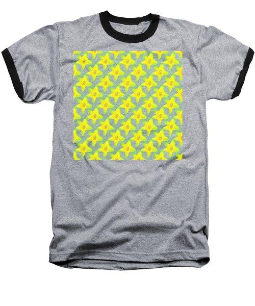 Background Choice Daffodils Baseball T-Shirt