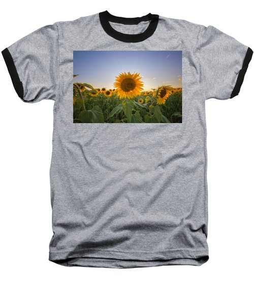 Backlit Baseball T-Shirt