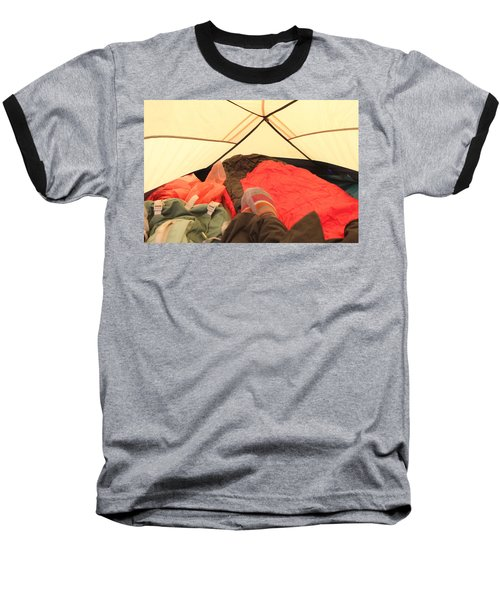 Backpacking Moments Baseball T-Shirt