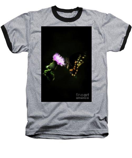 Backroad Butterfly Baseball T-Shirt