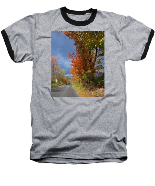 Baseball T-Shirt featuring the photograph Backroad Country In Pennsylvania by Jeanette Oberholtzer
