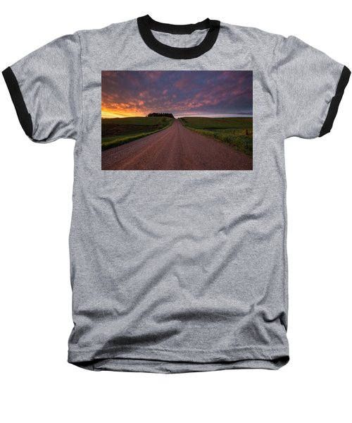 Baseball T-Shirt featuring the photograph Backroad To Heaven  by Aaron J Groen