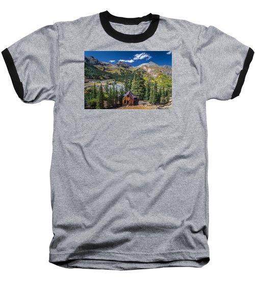 Backroads In San Juan Mountains Baseball T-Shirt by Michael J Bauer