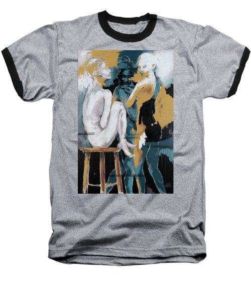 Backstage - Beauties Sharing Secrets Baseball T-Shirt