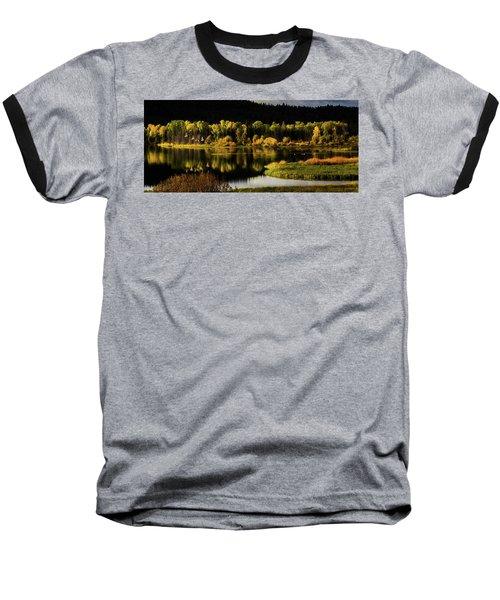 Backwater Blacks At Oxbow Bend Baseball T-Shirt