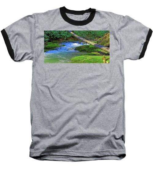 Backwoods Stream Baseball T-Shirt