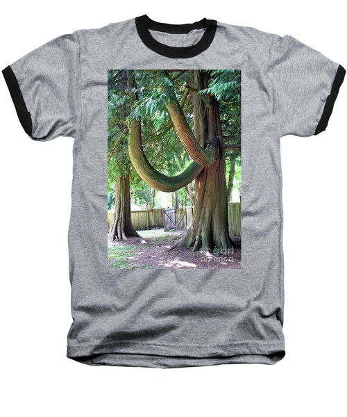 Backyard Cedar Baseball T-Shirt