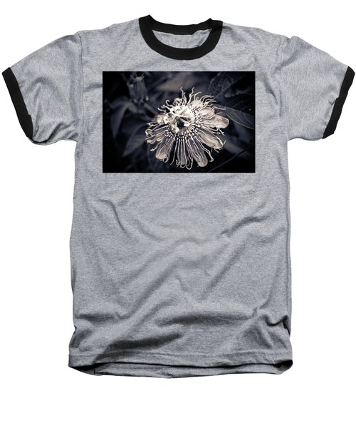 Clematis Flower Bloom Baseball T-Shirt
