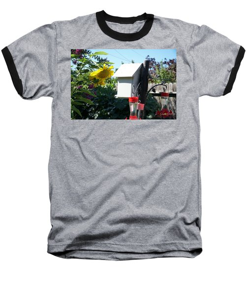 Backyard Garden Baseball T-Shirt