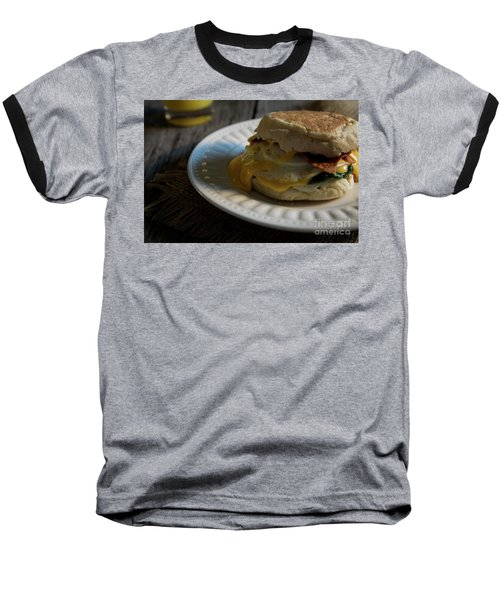 Baseball T-Shirt featuring the photograph Bacon And Cheese by Deborah Klubertanz