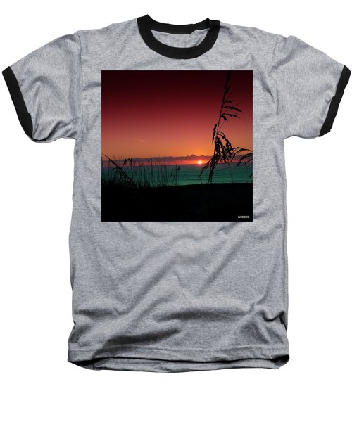 Bad East Coast Sunrise  Baseball T-Shirt
