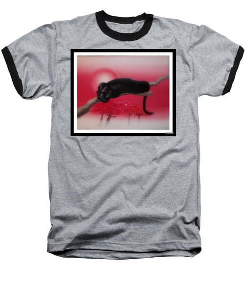 Bad Leopard   Baseball T-Shirt