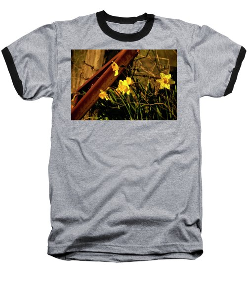 Baseball T-Shirt featuring the photograph Bad Situation by Albert Seger