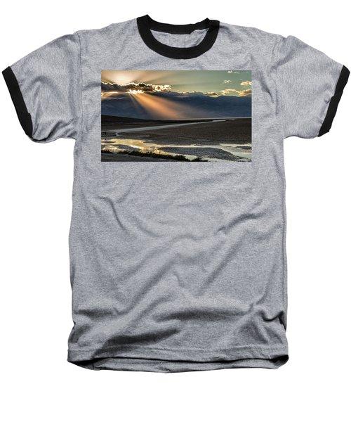 Bad Water Basin Death Valley National Park Baseball T-Shirt