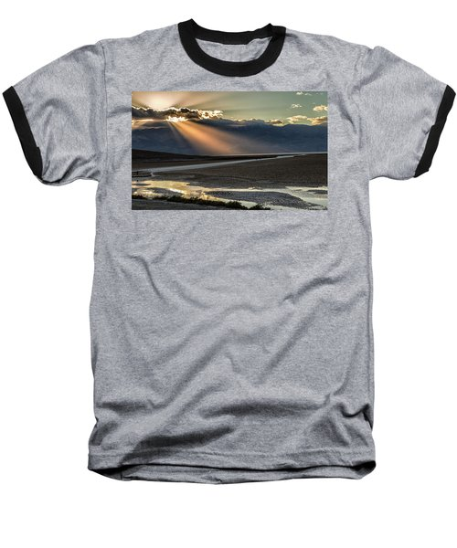 Baseball T-Shirt featuring the photograph Bad Water Basin Death Valley National Park by Michael Rogers