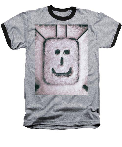 Bad Weather, Good Face Baseball T-Shirt