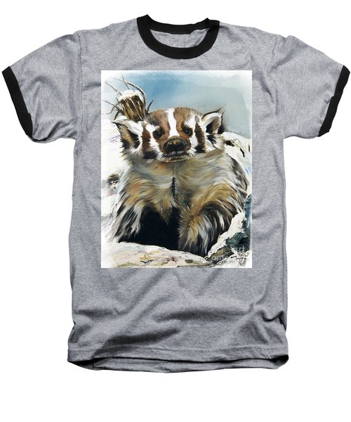 Badger - Guardian Of The South Baseball T-Shirt