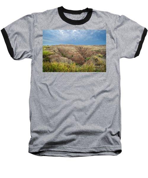 Badland Ravine Baseball T-Shirt