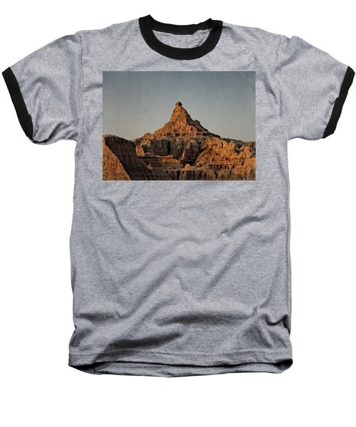 Badlands At Sunrise Baseball T-Shirt