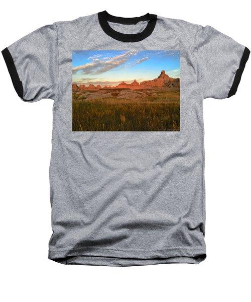 Badlands Evening Glow Baseball T-Shirt