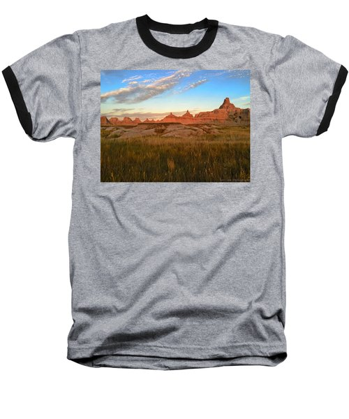 Badlands Evening Glow Baseball T-Shirt