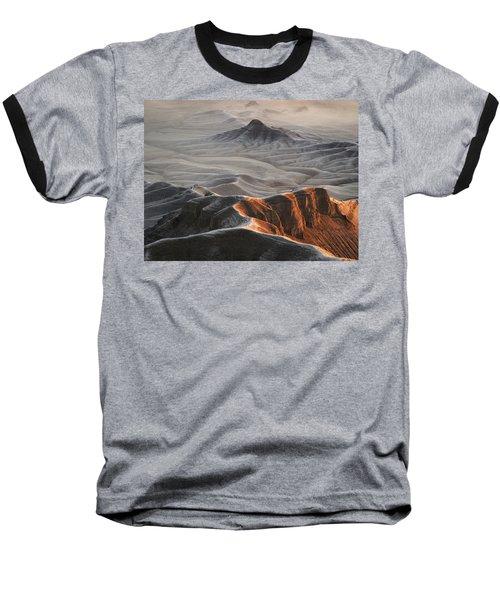 Badlands Fog Baseball T-Shirt
