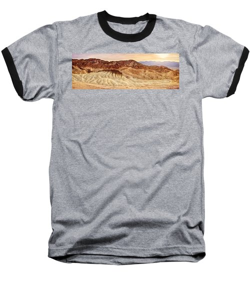 Badlands Formation Baseball T-Shirt