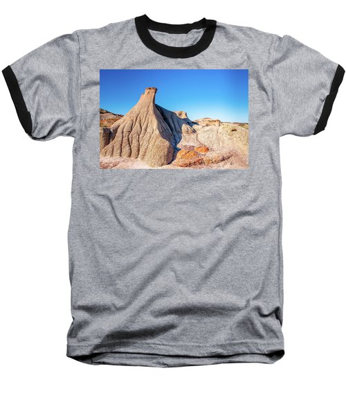Badlands Formations Baseball T-Shirt