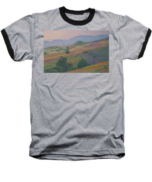 Badlands In July Baseball T-Shirt