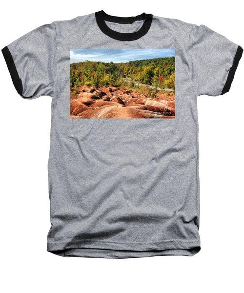 Badlands Baseball T-Shirt by Joe  Ng