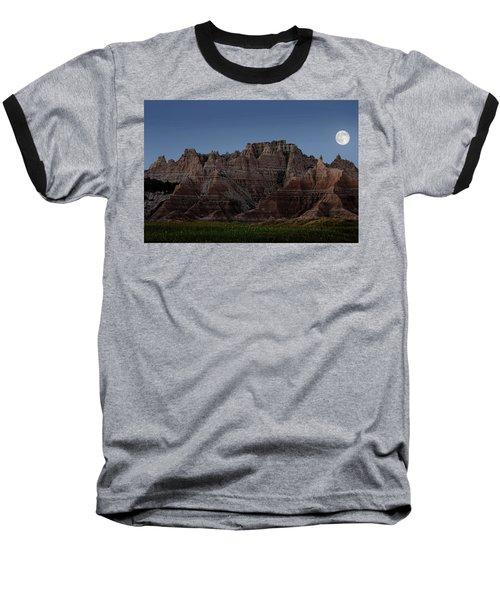 Badlands Moon Rising Baseball T-Shirt
