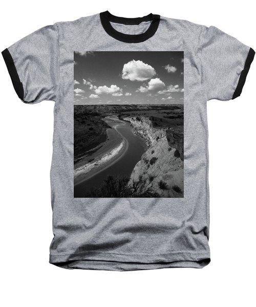 Badlands, North Dakota Baseball T-Shirt by Art Shimamura