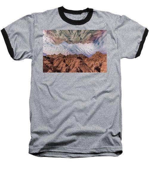 Badlands Reflection.... Baseball T-Shirt