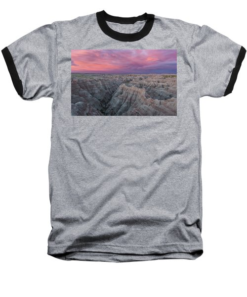 Badlands Sunrise Baseball T-Shirt