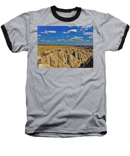 Badlands To Plains Baseball T-Shirt