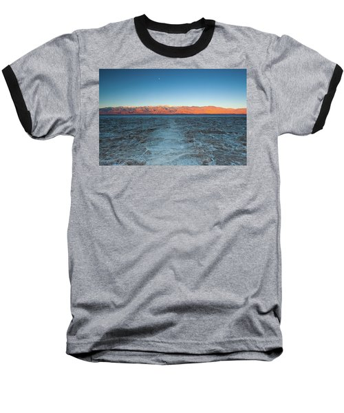 Baseball T-Shirt featuring the photograph Badwater  by Catherine Lau