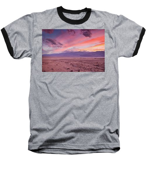 Badwater Sunset Baseball T-Shirt