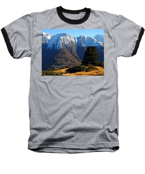 Baettlihorn In Valais, Switzerland Baseball T-Shirt