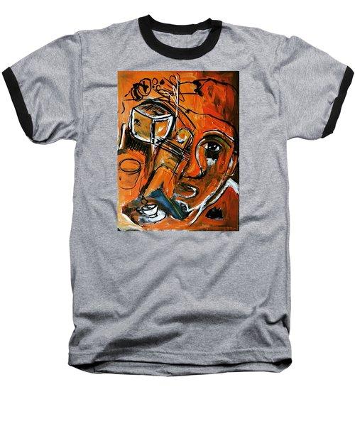 Baggage Baseball T-Shirt by Helen Syron