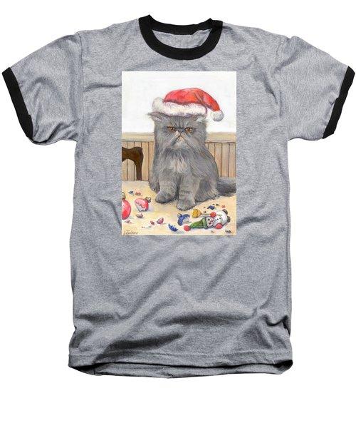 Bah Humbug Baseball T-Shirt