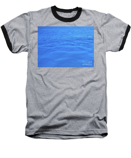 Bahama Blue Baseball T-Shirt