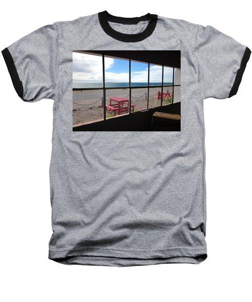 Bahia Bustamante Window Baseball T-Shirt